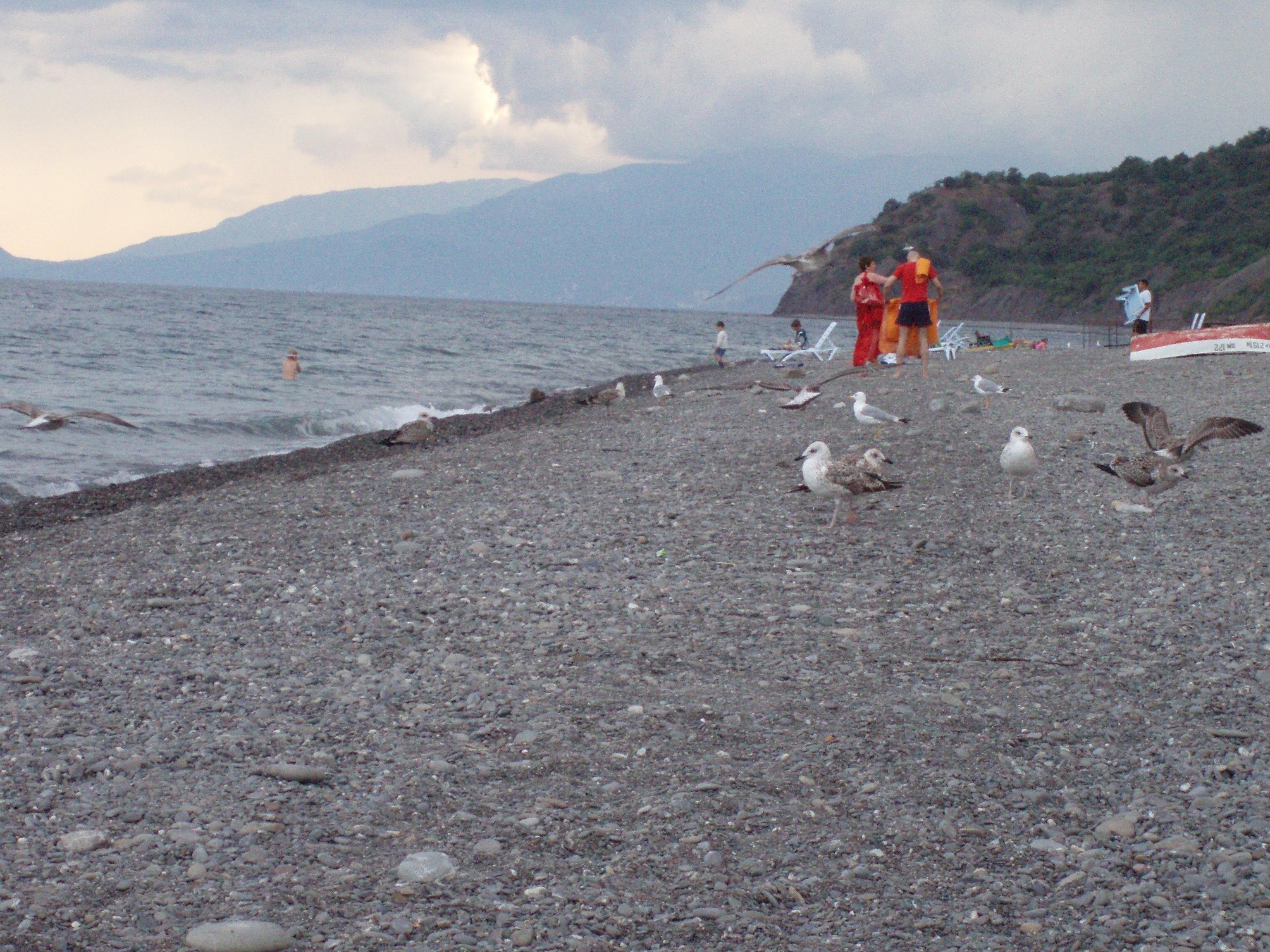 Пляжи канаки крым фото